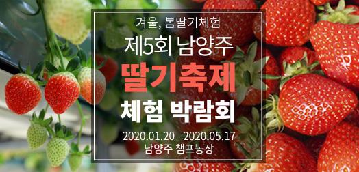 [겨울,봄딸기체험] 제5회 남양주 딸기축제